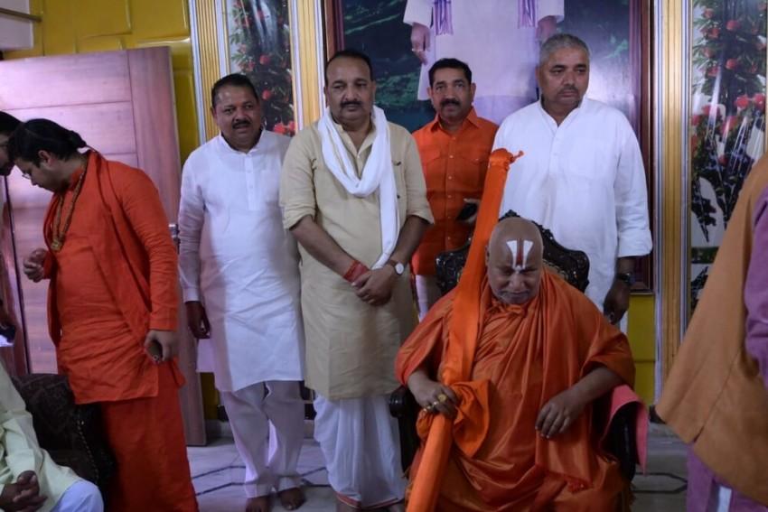 BJP Leader Dinesh Pratap Singh Donates Rs 1.21 Crore For Ram Temple