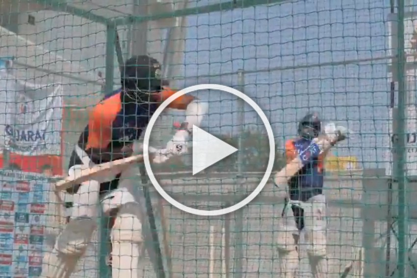 IND Vs ENG, 4th Test: Indian Top Guns Go Full Throttle At Nets - WATCH