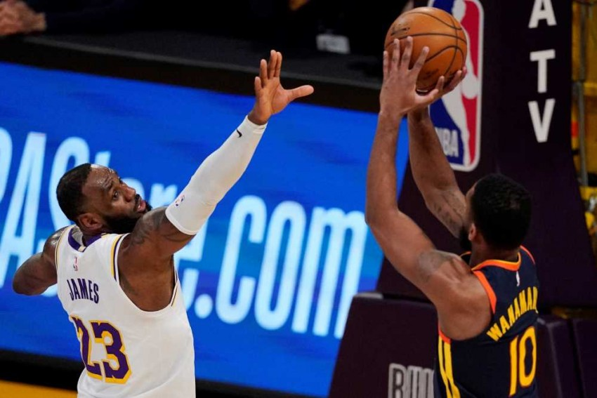 Giannis In A 48-year First, LeBron's Lakers Beat Warriors In Milestone NBA Game