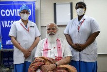 Meet Nurse Sister P Niveda, Who Administered First Dose of Covid Vaccine To PM Modi