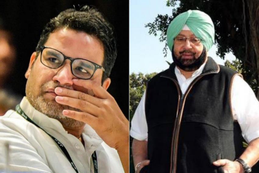 Punjab: Congress Ropes In Prashant Kishor As CM Amarinder Singh's Principal Advisor