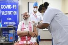 PM Modi, Vice Prez Naidu; Politicians Get Their First Jab of Covid Vaccine: Check The List