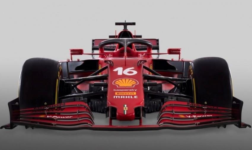Ferrari Unveils Its New Formula 1 Car 'SF21'