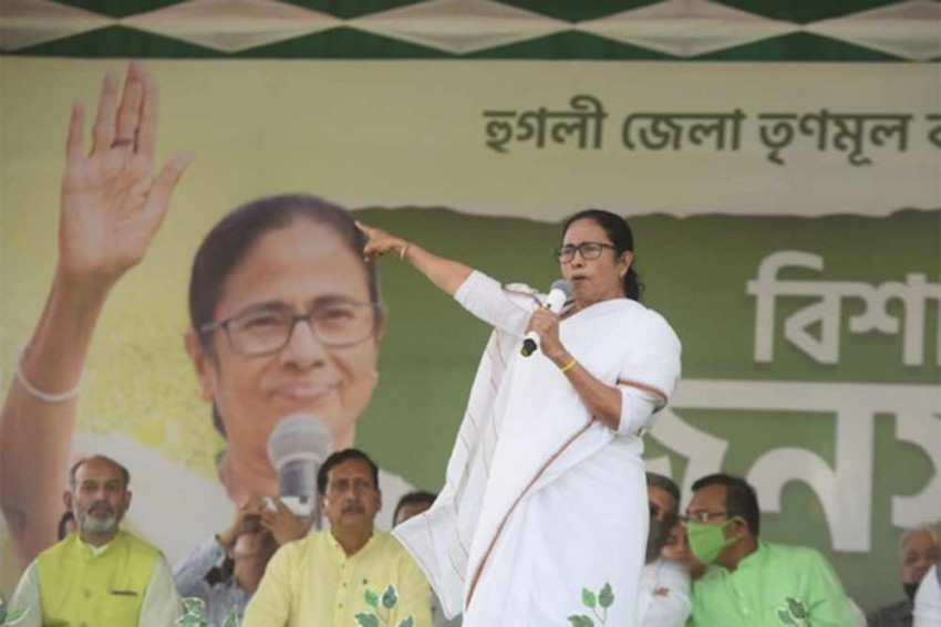 West Bengal Assembly Polls: Mamata Banerjee Files Nomination Papers From Nandigram