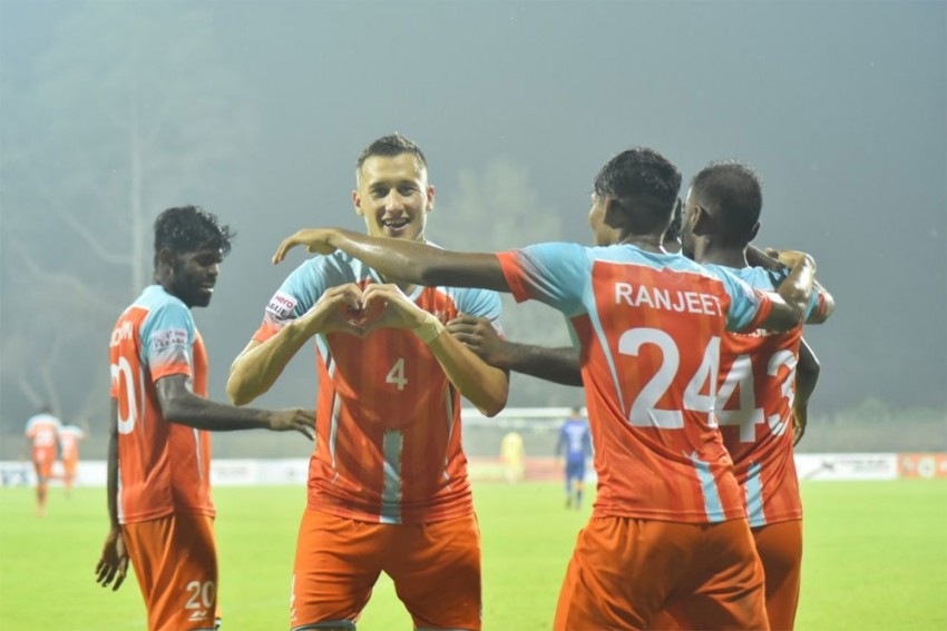 I-League: Chennai City FC Blank Indian Arrows 5-0