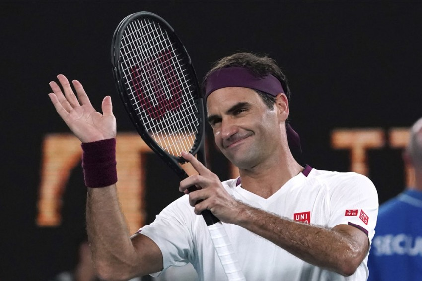 Roger Federer Delighted With Victory Over Dan Evans At Qatar Open