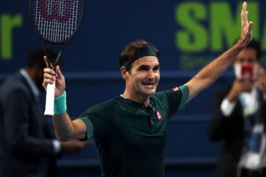 Roger Federer Marks Return By Winning Mini-epic With Friend Dan Evans In Doha