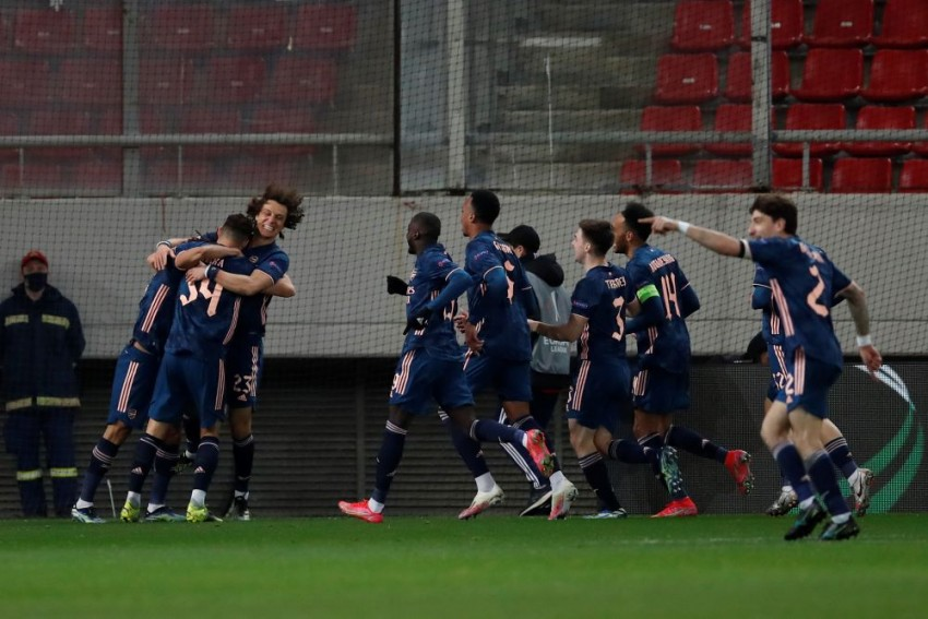 Olympiacos 1-3 Arsenal: Gabriel And Mohamed Elneny Strike Late To Give Mikel Arteta's Team The Edge