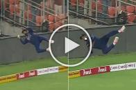 IND Vs ENG, 1st T20I: Flying KL Rahul Denies Jos Buttler A Certain Six With Stunning Fielding Effort - WATCH