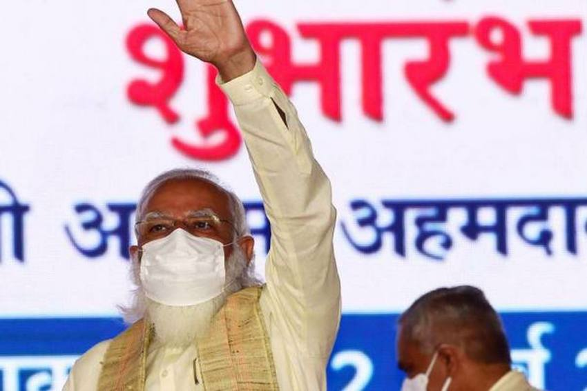 PM Modi Inaugurates 'Azadi Ka Amrit Mahotsav' To Mark 75 Years Of Independence