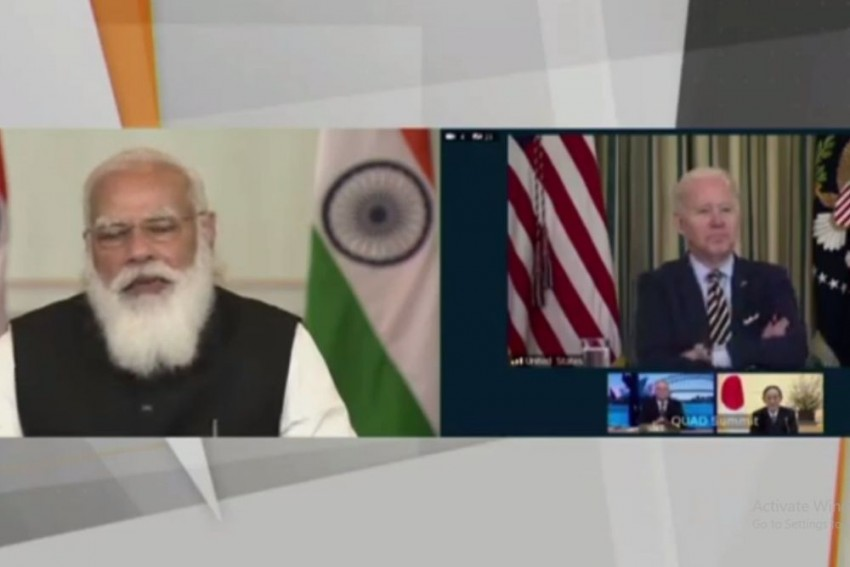 'It's Great To See You': US President Biden To Modi At First Virtual Quad Summit