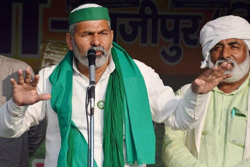 Farmers' Stir: Protests May Continue Till December, Says BKU Leader Rakesh Tikait