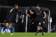 Fulham 0-3 Manchester City: Sergio Aguero Ends Drought As Cottagers Are Brought Back Down To Earth