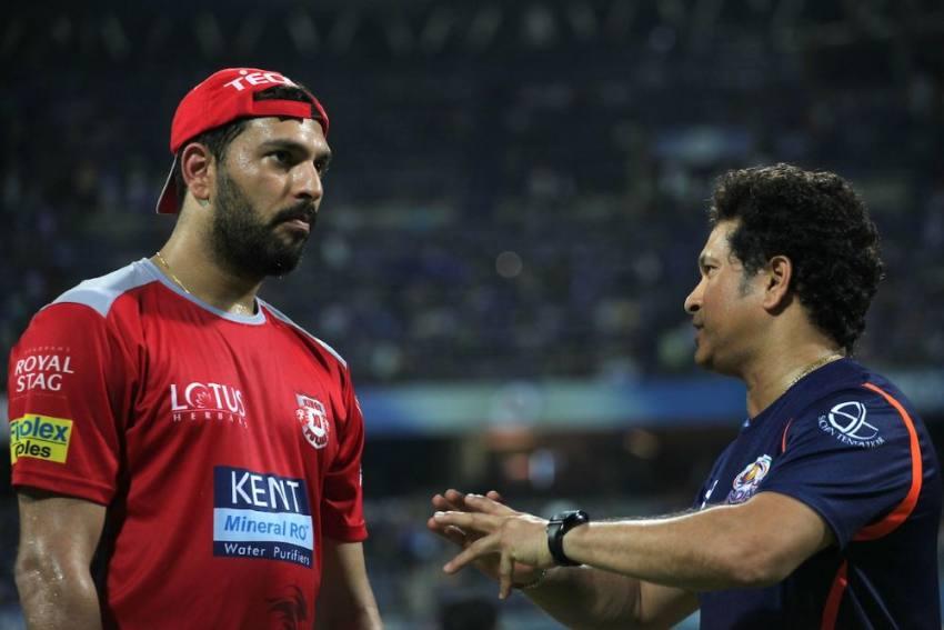 6,6,6,6 Yuvraj Singh, Sachin Tendulkar Shine For India In Legends Cricket Match Vs South Africa
