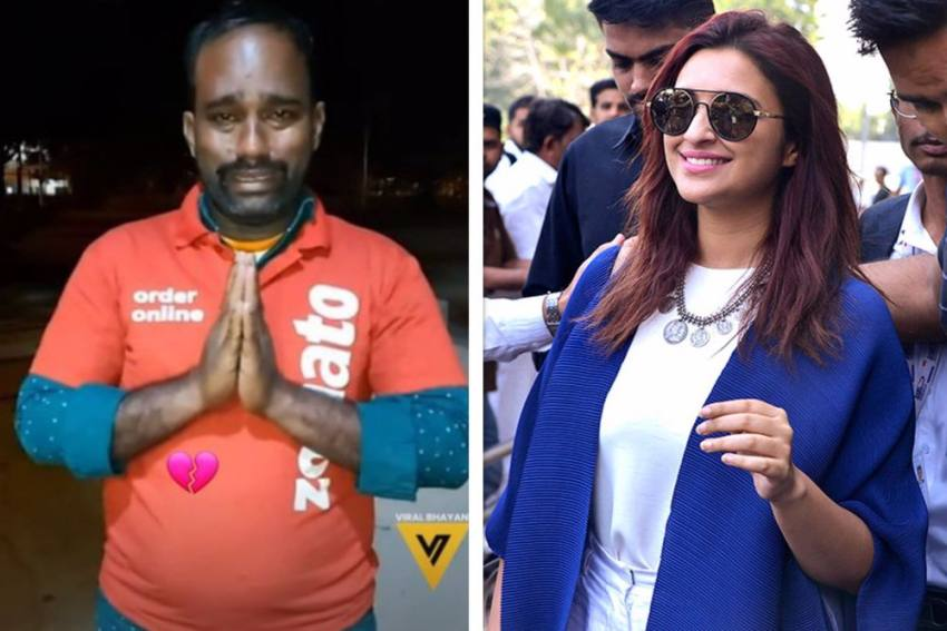 If He Is Innocent, Penalise The Woman: Parineeti Chopra Comes Out In Support Of Zomato Delivery Man