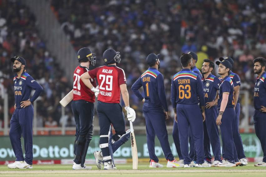 IND Vs ENG: India Fined For Slow-over Rate In Second T20I Against England