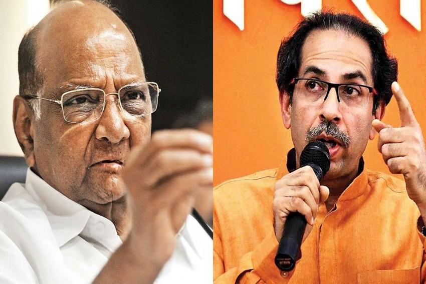 Mukesh Ambani Security Scare Case: Maharashtra CM Uddhav Thackeray Meets Sharad Pawar