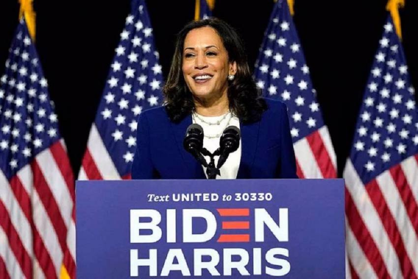 Status Of Women Is The Status Of Democracy: US Vice President Kamala Harris