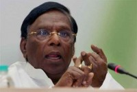 Narayanasamy Pays For Wrong Translation, Doesn't Get Congress Ticket From Puducherry
