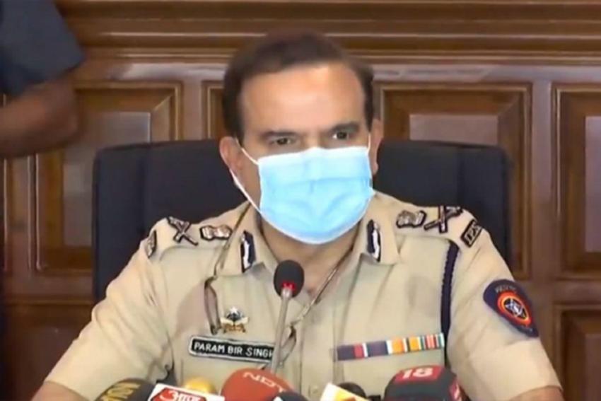 Mumbai Police Chief Transferred Over Vaze Case, BJP Says 'Damage-Control' Move