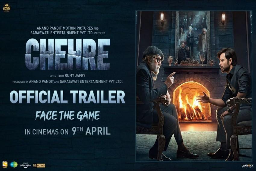 Chehre Trailer: Rhea Chakraborty Finally Makes Appearance In Amitabh Bachchan Starrer Thriller