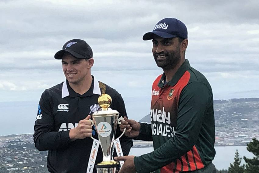 NZ Vs BAN, Live Streaming: When And Where to Watch 1st ODI Cricket Match Between New Zealand And Bangladesh