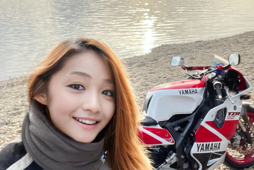 Shocking! Popular Japanese Woman Biker Turns Out To Be A 50-Year-Old Man