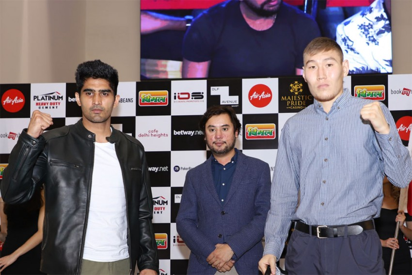 WATCH First-ever Pay-per-view Boxing In India As Undefeated Vijender Singh Fight Artysh Lopsan