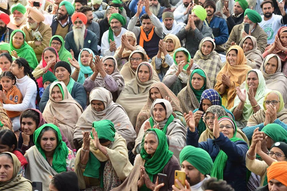 Women Farmers No More Mere Spectators In Agriculture Laws Protests