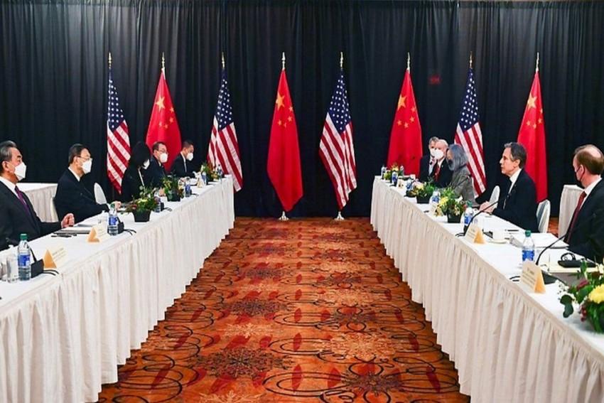 Top US, Chinese Diplomats Clash Publicly At First Face-To-Face Meeting Under Joe Biden