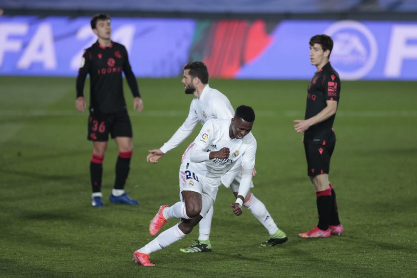 Real Madrid 1-1 Real Sociedad: Late Vinicius Leveller Does Little To Alleviate Pressure Ahead Of Derby