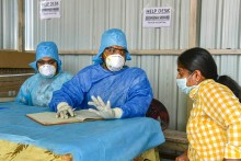 India Reports 12,286 Fresh Covid-19 Infections With 91 Fatalities