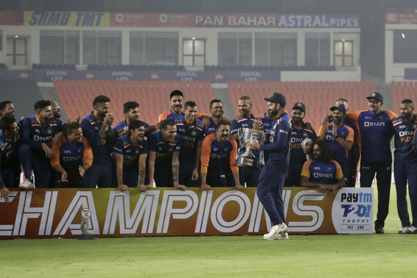 IND Vs ENG, 5th T20I: India Outplay England In High-scoring Finale To Seal Series 3-2