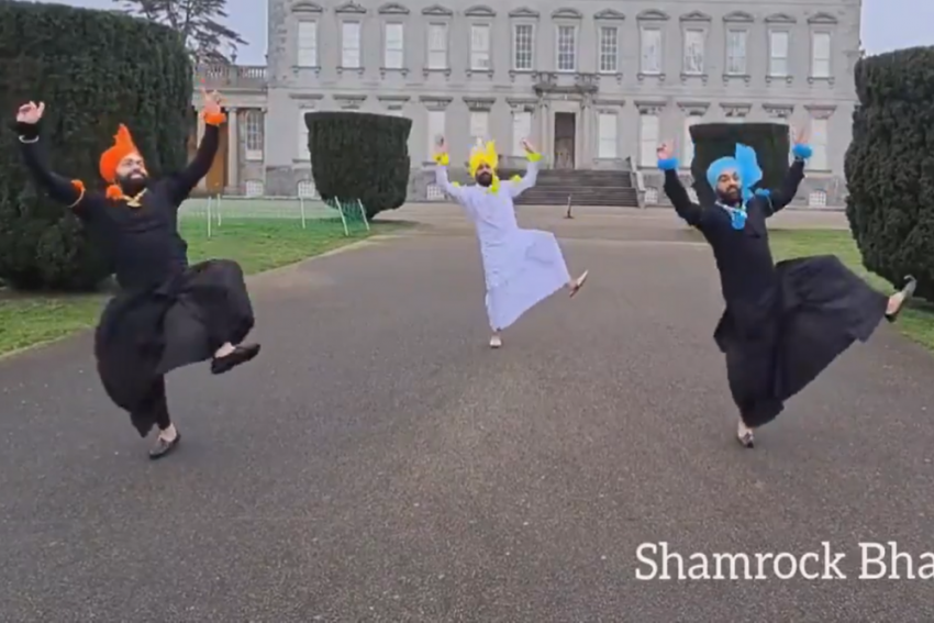 Watch: Bhangra Group Adds Desi Touch To Irish Music On St Patrick's Day