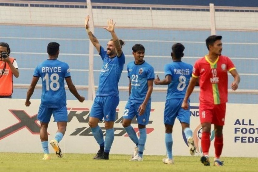 I-League: TRAU, Churchill Brothers Play Out 1-1 Draw In High-octane Match