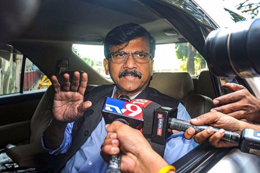 Allies Need To Introspect, Wash Off Stains: Sena MP Sanjay Raut On Param Bir Singh's Letter