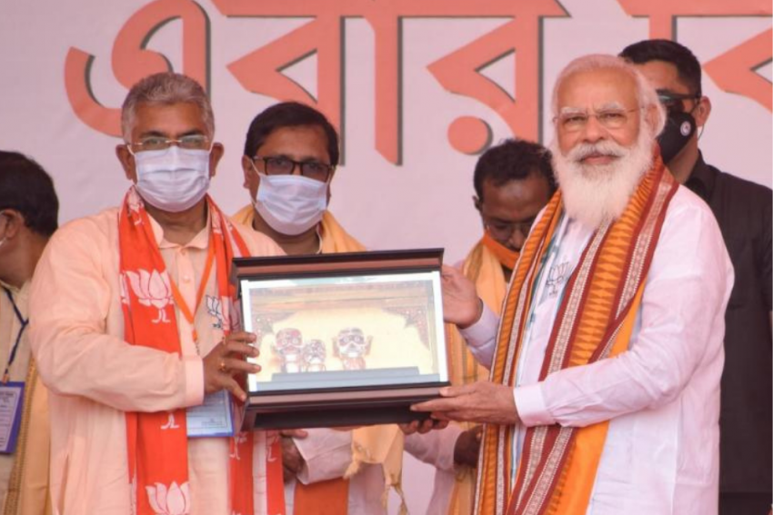 What Does PM Modi's Public Praise For Bengal BJP Chief Dilip Ghosh Actually Mean?