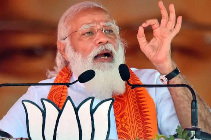PM Modi Slams Congress At Assam Poll Rally, Says Party Gave 'False Guarantees'