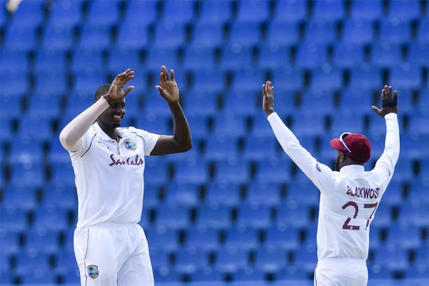 WI Vs SL, 1st Test, Day 1: Jason Holder Takes 5/27, West Indies Dismiss Sri Lanka For 169