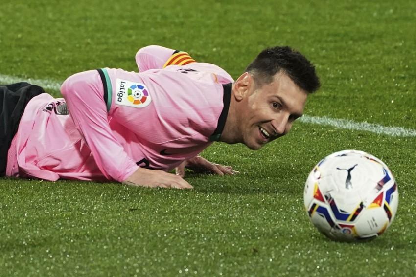 Real Sociedad 1-6 Barcelona: Lionel Messi Makes History As Sergino Dest Nets Double In La Liga