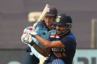 1st ODI, Innings Report: Shikhar Dhawan's 98 And Krunal Pandya, KL Rahul's Fifties Fire India To 317/5