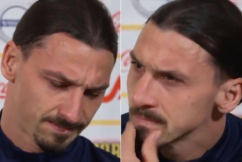 Zlatan Ibrahimovic Breaks Down In Tears: I'm Human, Even Though I'm Superman - VIDEO