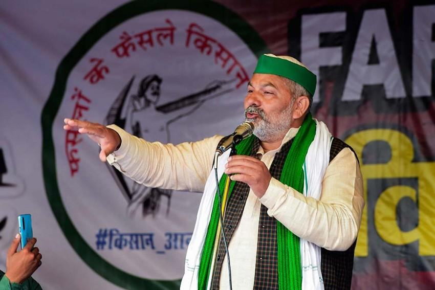 Farmers Will Soon Sell Crops Outside Parliament: Bharatiya Kisan Union Leader Rakesh Tikait