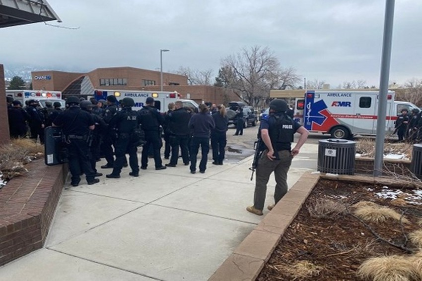 US: 10 Dead, Including Police Officer In Shooting At Colorado Supermarket; Shooter Held