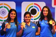 ISSF Shooting World Cup: India Win Women's 25m Team Pistol Gold