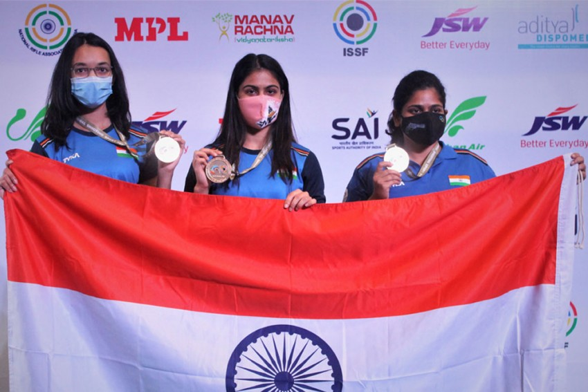 ISSF Shooting World Cup: India Add Gold, Silver To Continue Dominant Run