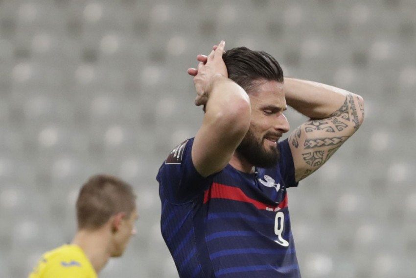 France 1-1 Ukraine: Didier Deschamps Laments Wasteful Les Bleus After World Cup Qualifying Draw