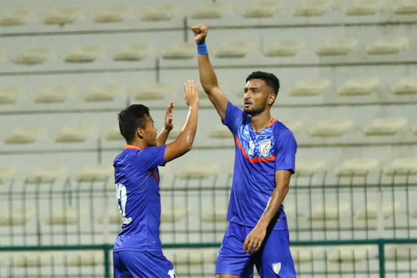 India 1-1 Oman: Blue Tigers Fight Back To Share Honours In Dubai
