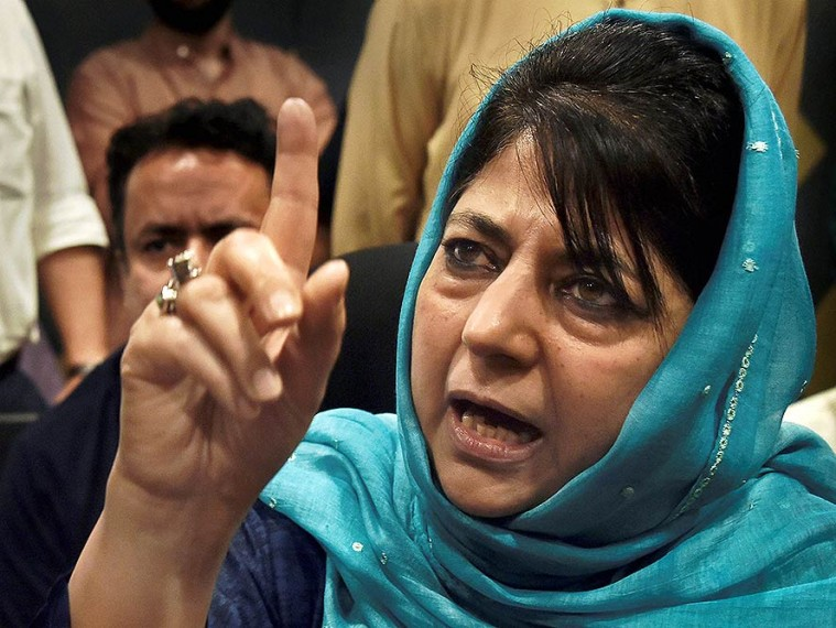 Dissent Criminalised In India: Mehbooba After Four Hours Of ED Questioning