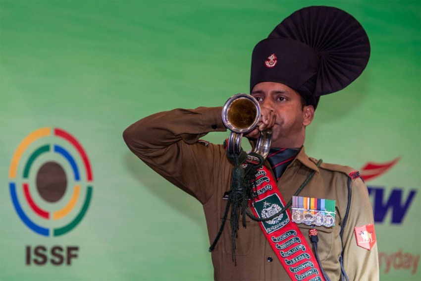 ISSF Shooting World Cup: Indian Men Win Gold In 50m Rifle 3 Positions Team Event